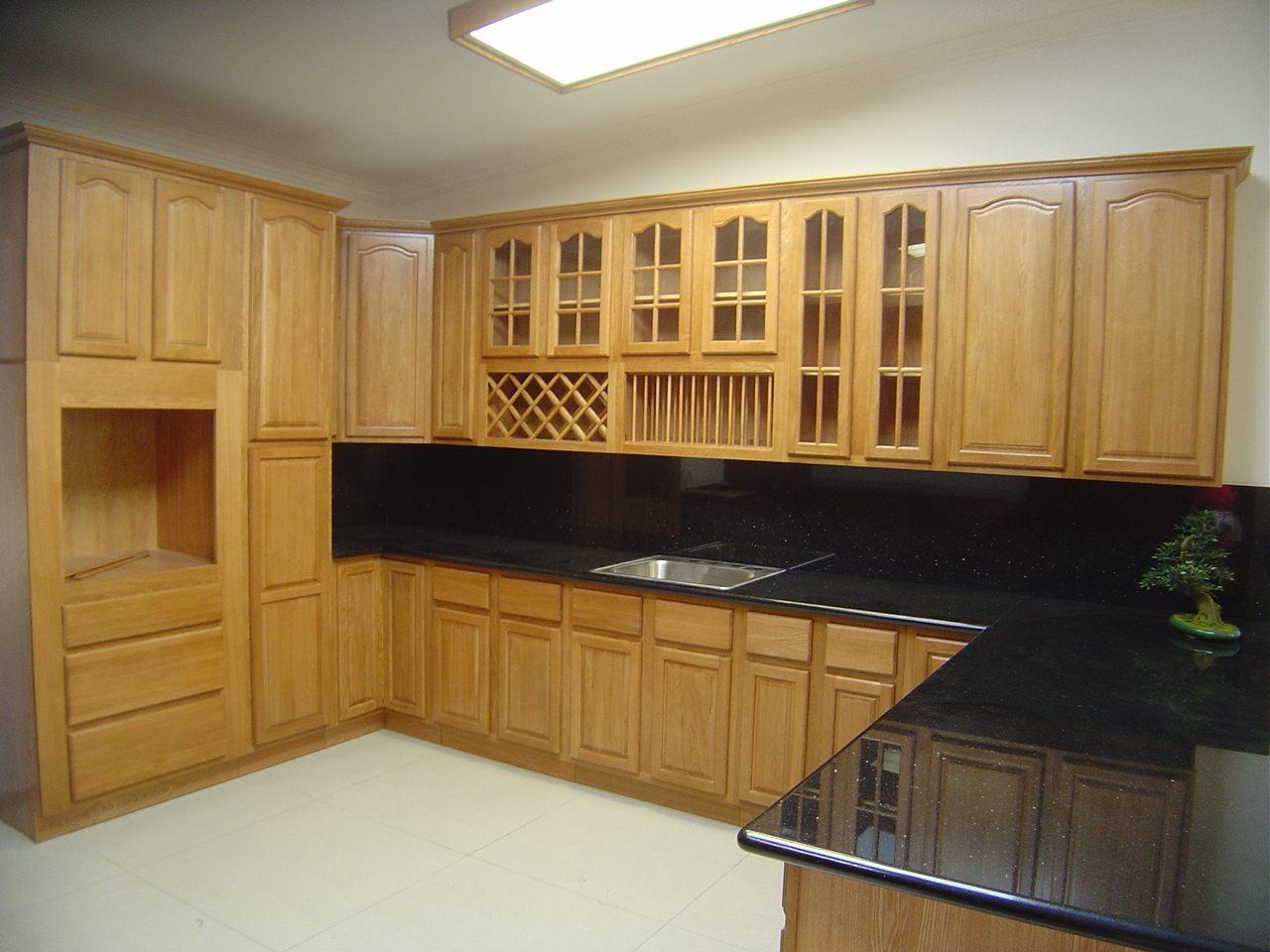 Armarios de cocina de madera :: Imágenes y fotos