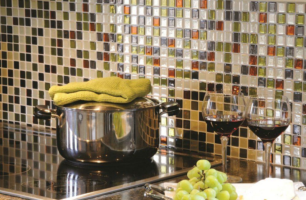 Azulejos adhesivos para cocina im genes y fotos - Vinilos para azulejos de banos ...