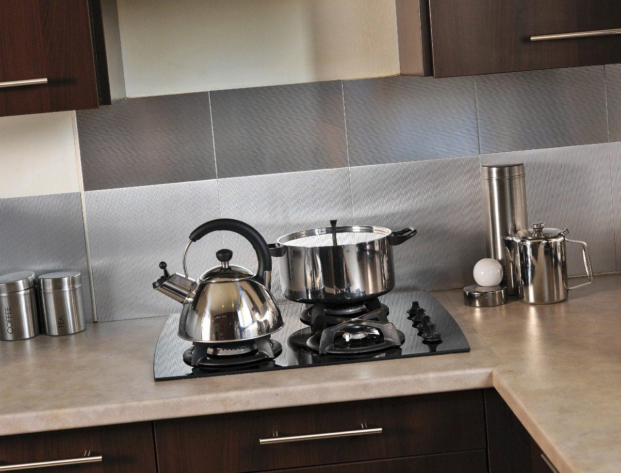 Galer a de im genes azulejos adhesivos para cocina - Fotos de azulejos de cocina ...