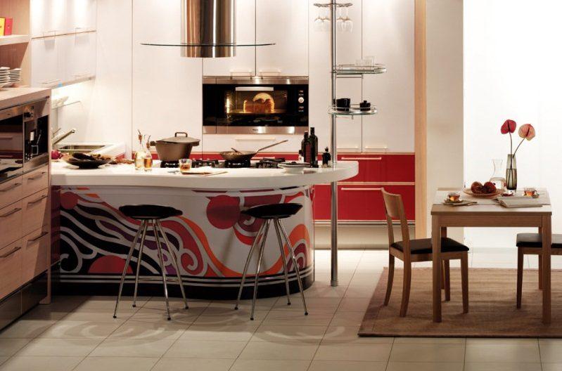 Cocina americana de dise o im genes y fotos for Imagenes de muebles de cocina americanas