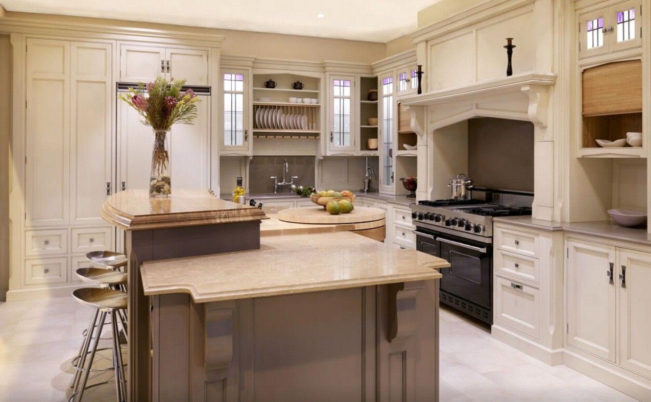 Cocinas de madera - Cocina encimera madera ...