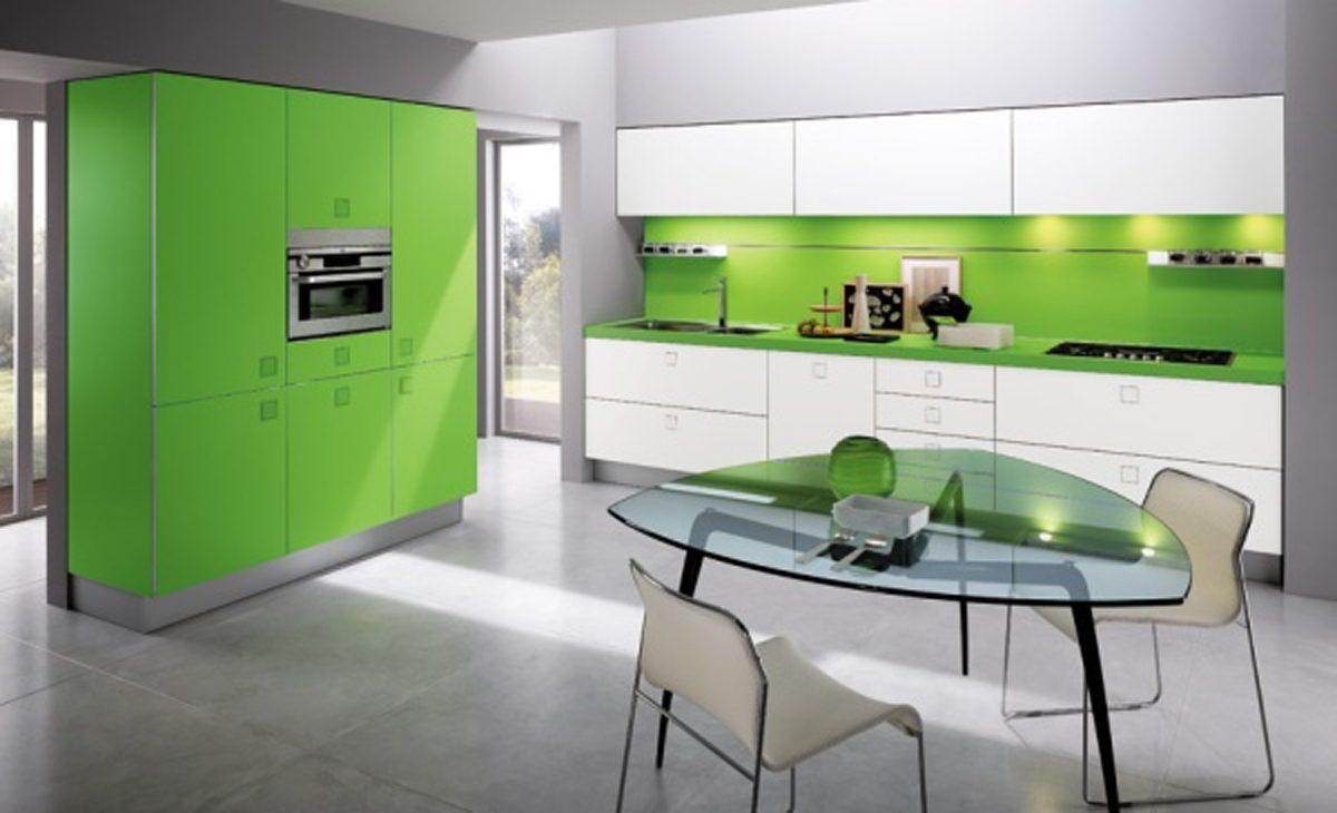 Cocina moderna minimalista im genes y fotos for Cuadros modernos para decorar cocinas
