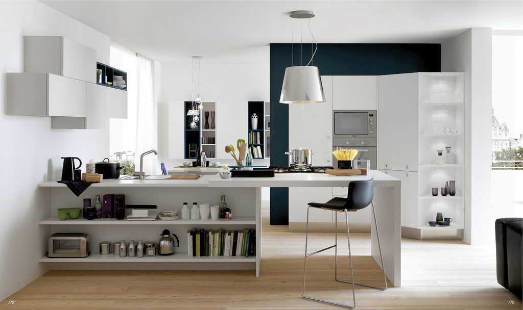 Cocina office moderna im genes y fotos - Cocinas con office ...