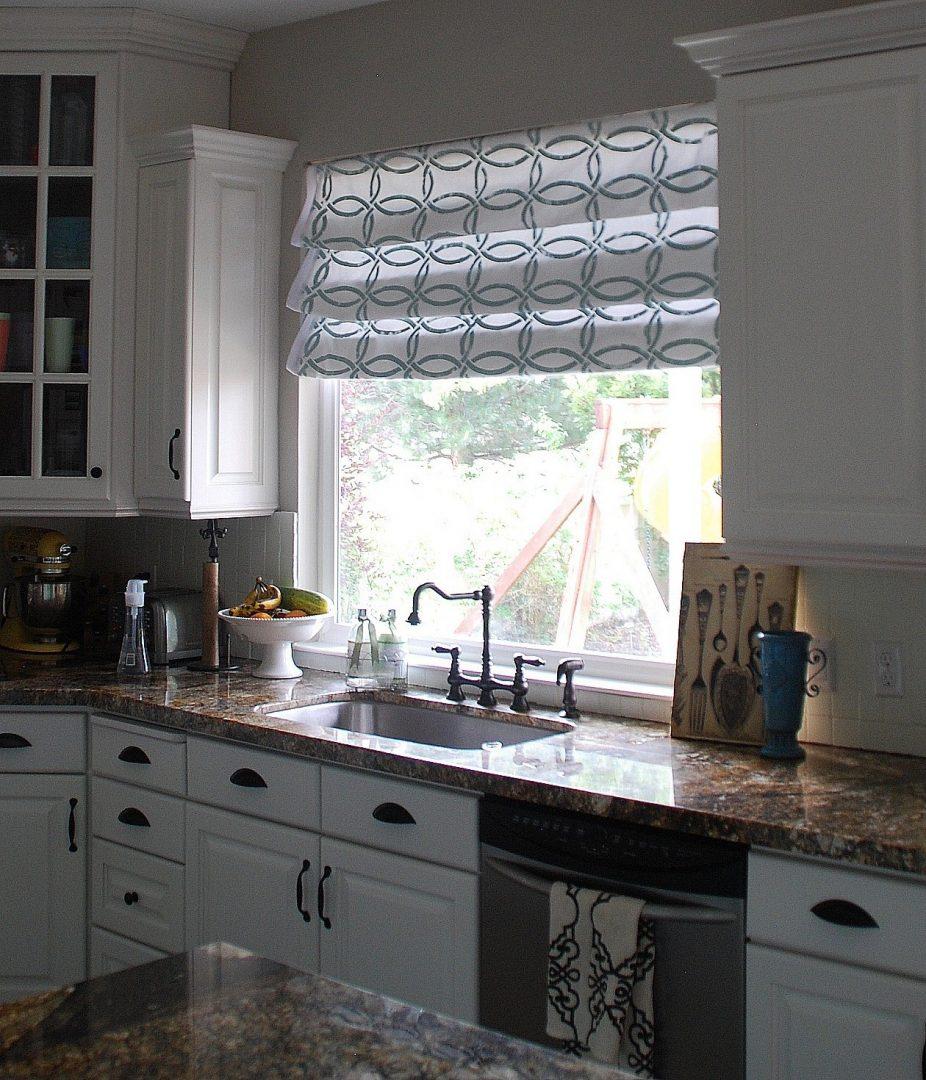 Cortinas modernas de cocina im genes y fotos for Muebles de cocina con cortinas