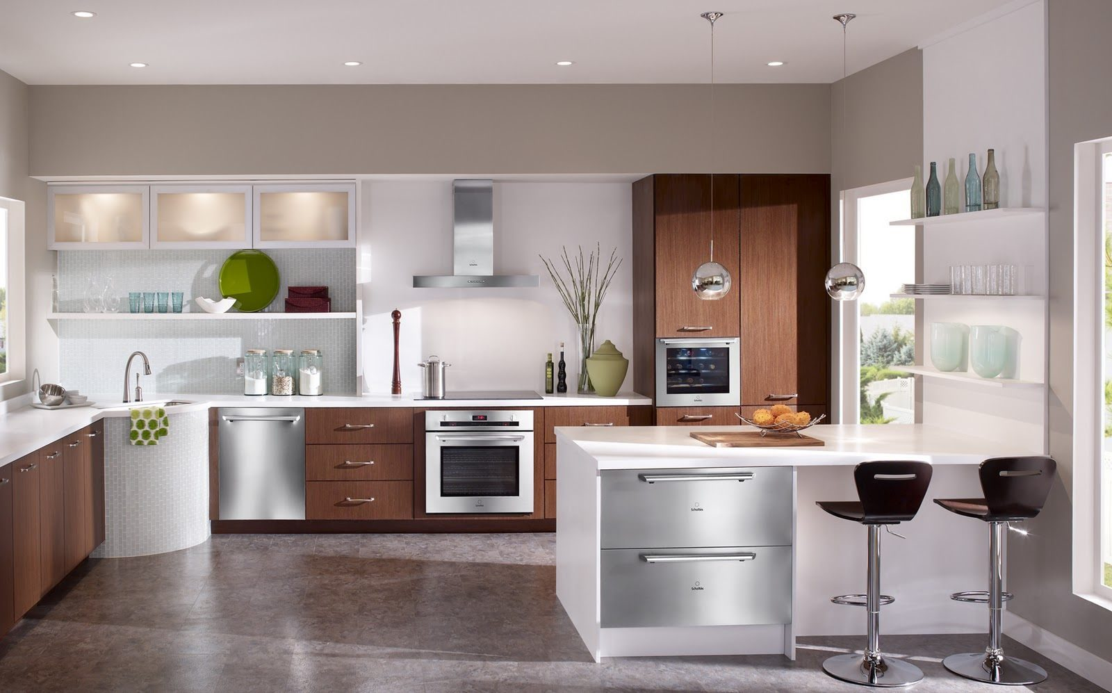 Escoger electrodom sticos de cocina for Modelos de cocinas modernas americanas