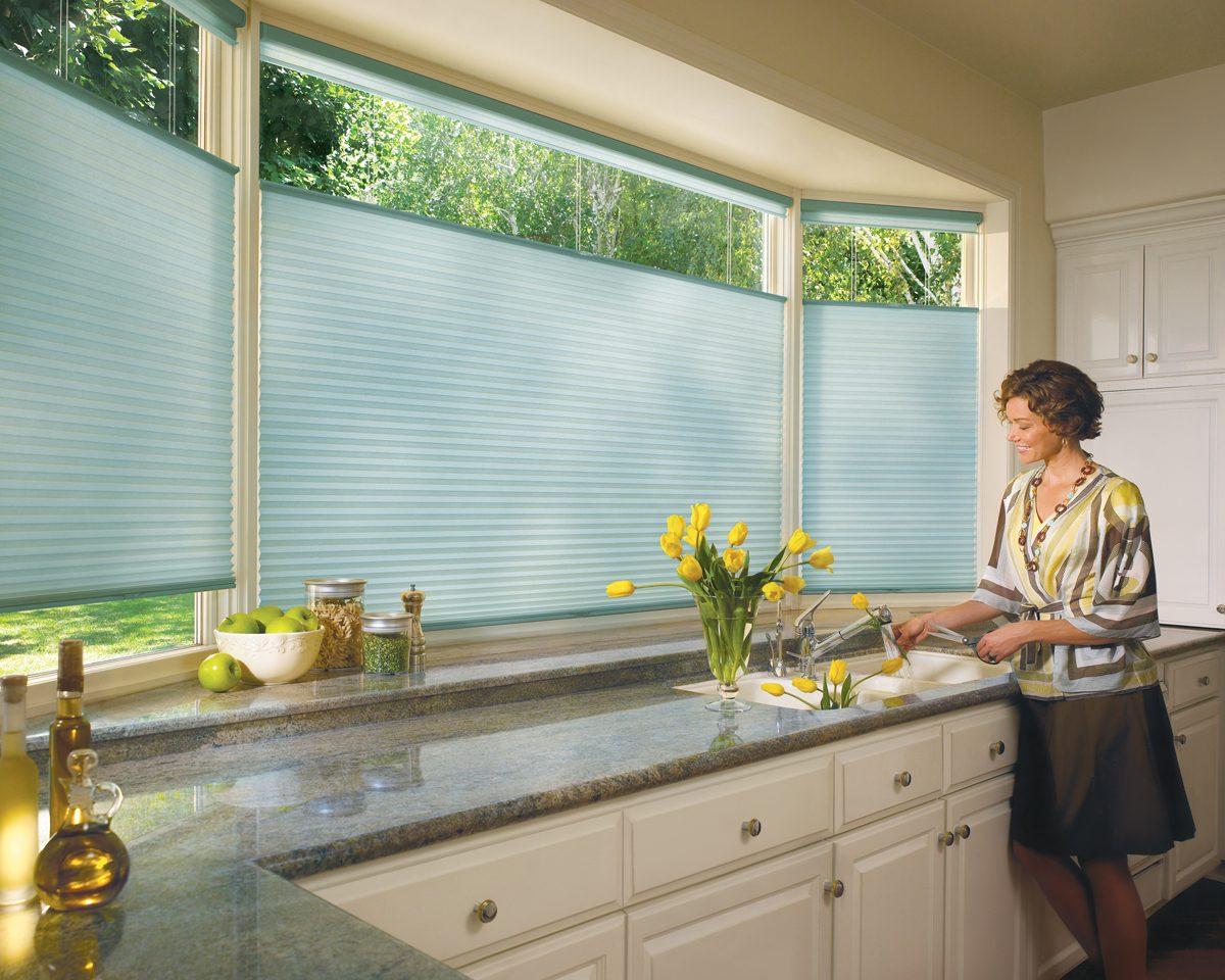 Estores para cocina im genes y fotos for Tipos de cortinas y estores