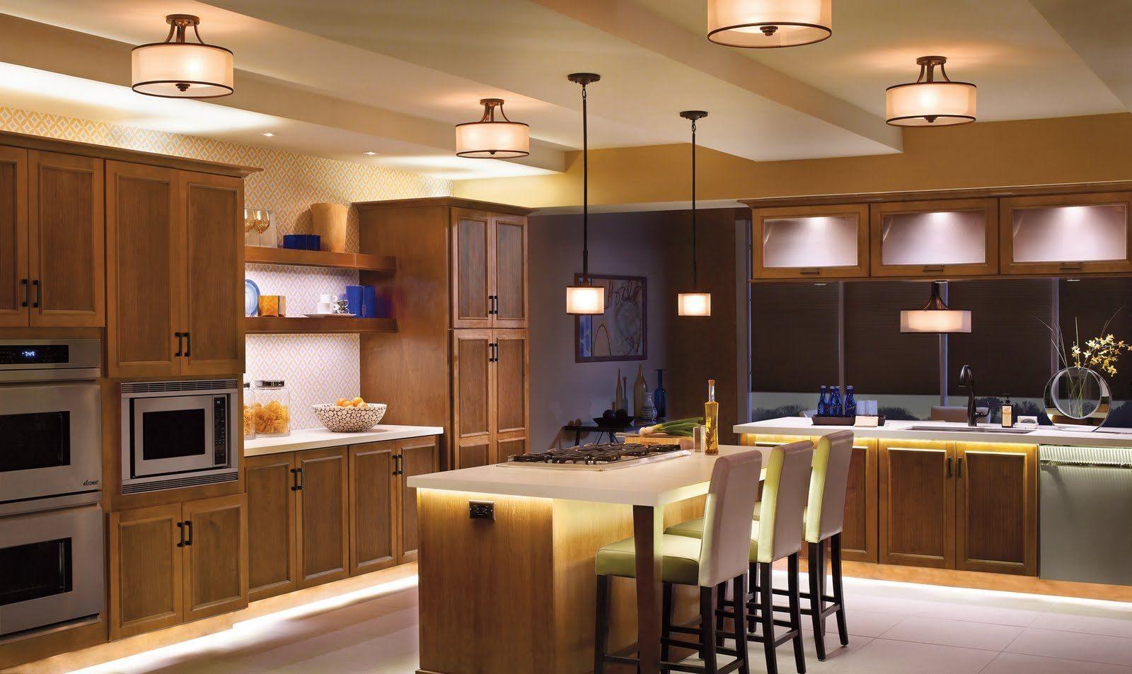 Iluminaci n artificial de cocinas im genes y fotos - Iluminacion para cocinas modernas ...
