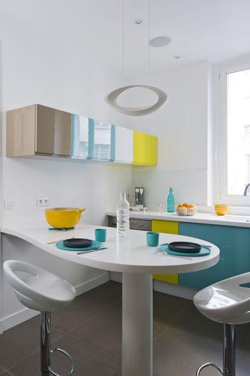 Muebles de cocina coloridos im genes y fotos - Muebles boom cocinas ...