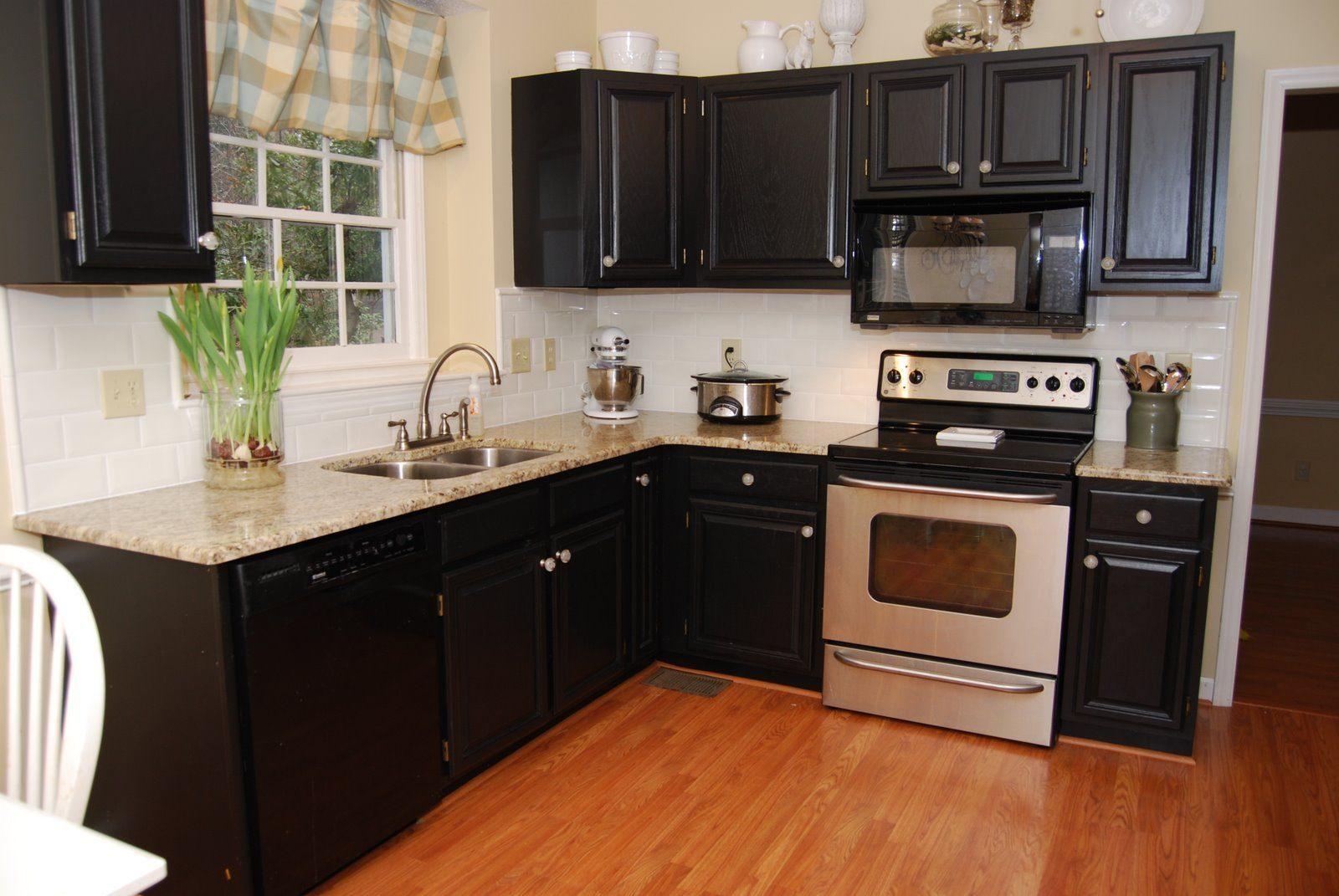 Muebles de cocina negros :: Imágenes y fotos