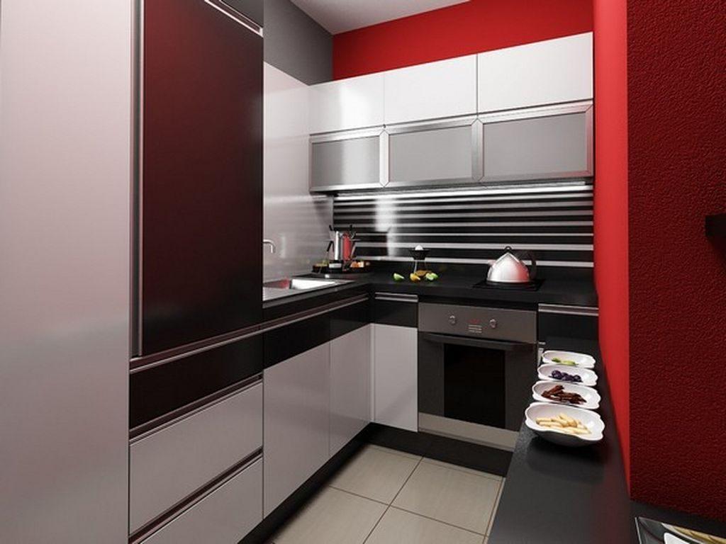 Muebles para una cocina peque a im genes y fotos for Cocinetas para cocinas pequenas