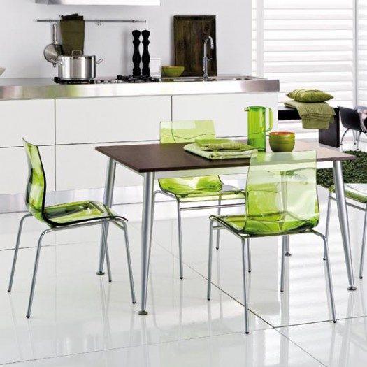 sillas de cocina transparentes im genes y fotos On sillas transparentes para cocina